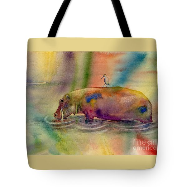 Hippy Dippy Tote Bag by Amy Kirkpatrick