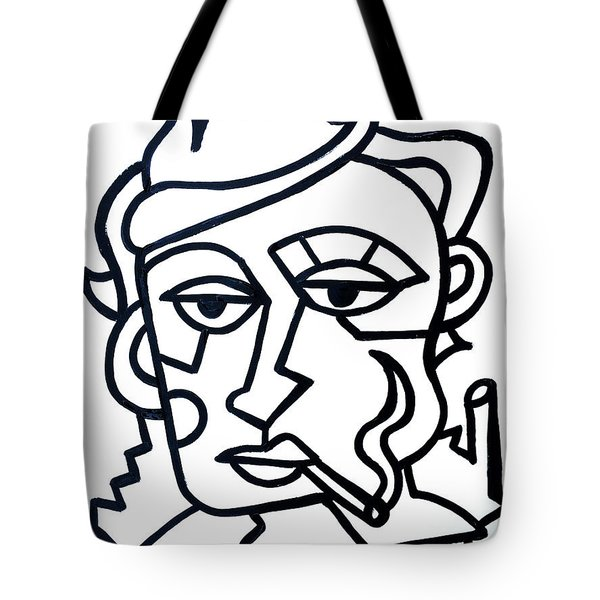 Hipster Painting  Limited Edition Print Tote Bag