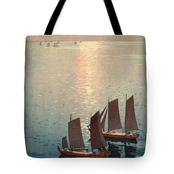 Hiroshi Yoshida, Hikaru Umi, The Sparkling Sea, 1926 Tote Bag