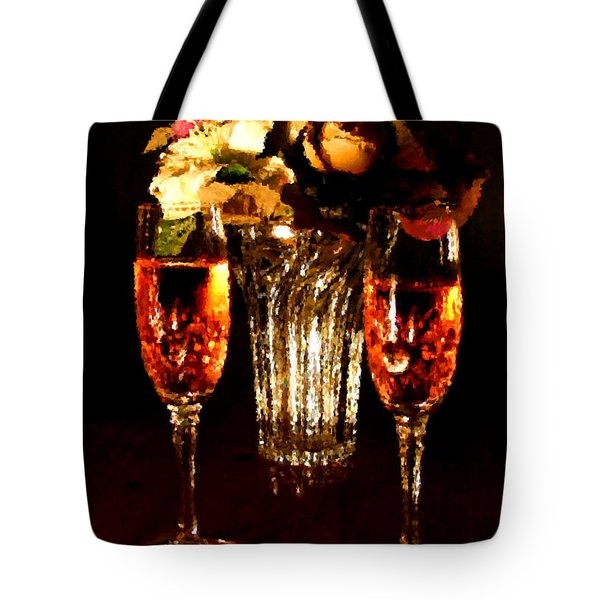 His And Hers Tote Bag by Kristin Elmquist