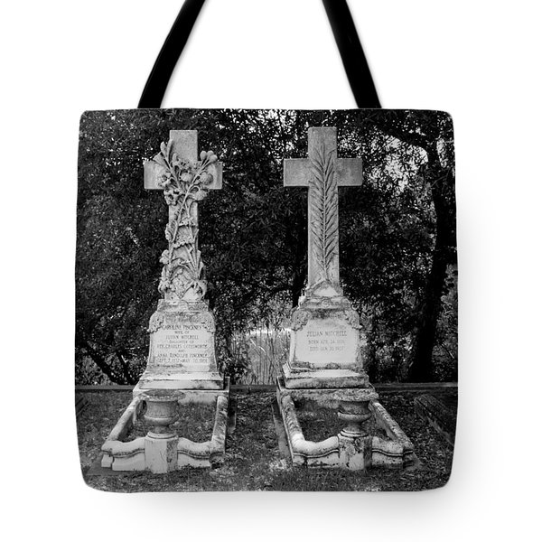 Tote Bag featuring the photograph His And Hers by Michael Colgate