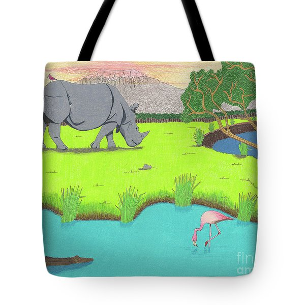 His Backward Glance Tote Bag