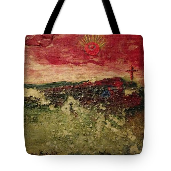His Crucifiction Tote Bag