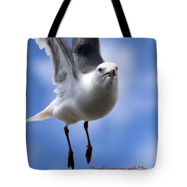His Feathers Tote Bag