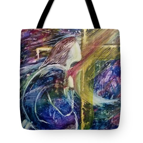 His Grace Is Over Me Tote Bag