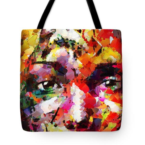 His Last Memory Tote Bag by Sir Josef - Social Critic -  Maha Art