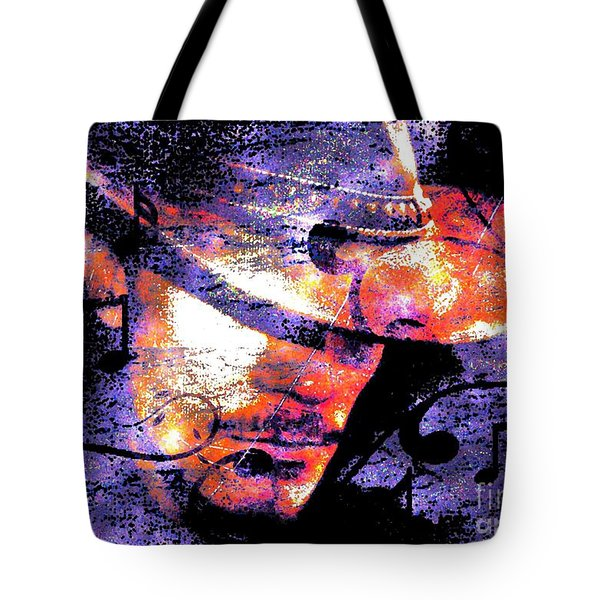 His Love Song  Tote Bag