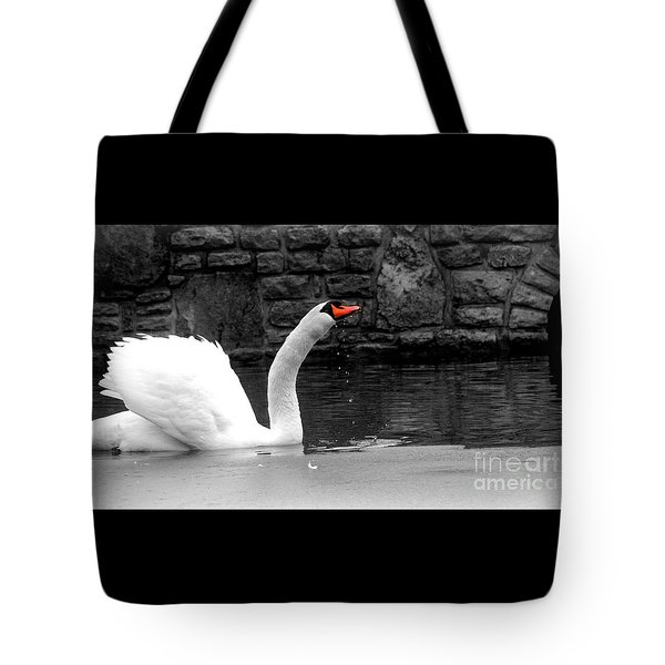 His Majesty On Ice Tote Bag