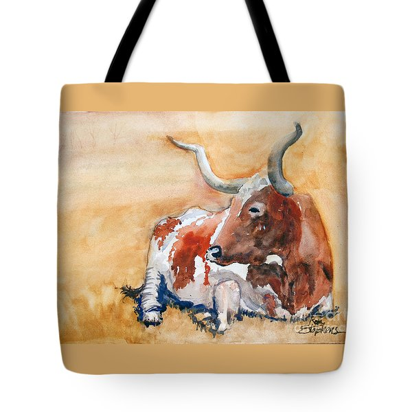 His Majesty Tote Bag by Ron Stephens