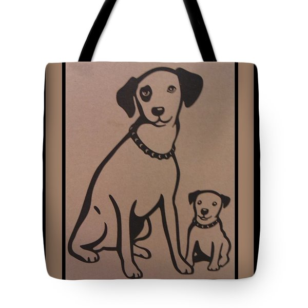 His Masters Voice - Nipper And Chipper Tote Bag