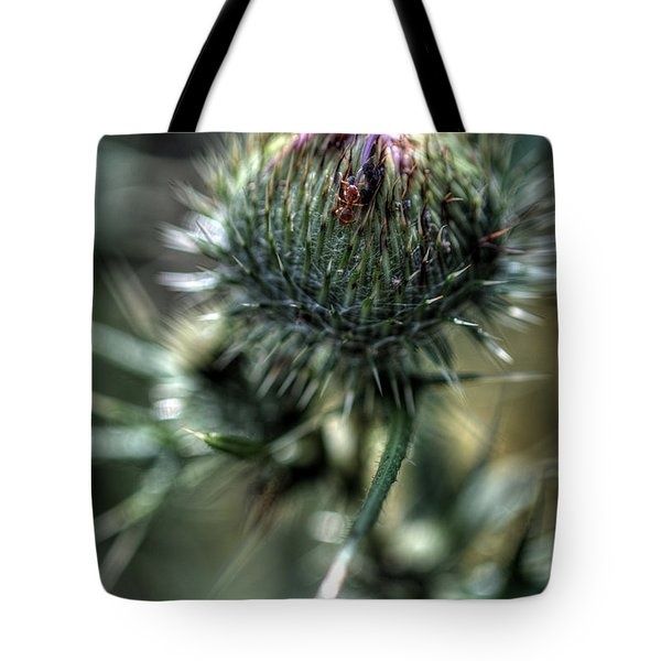 His Own Little World Tote Bag