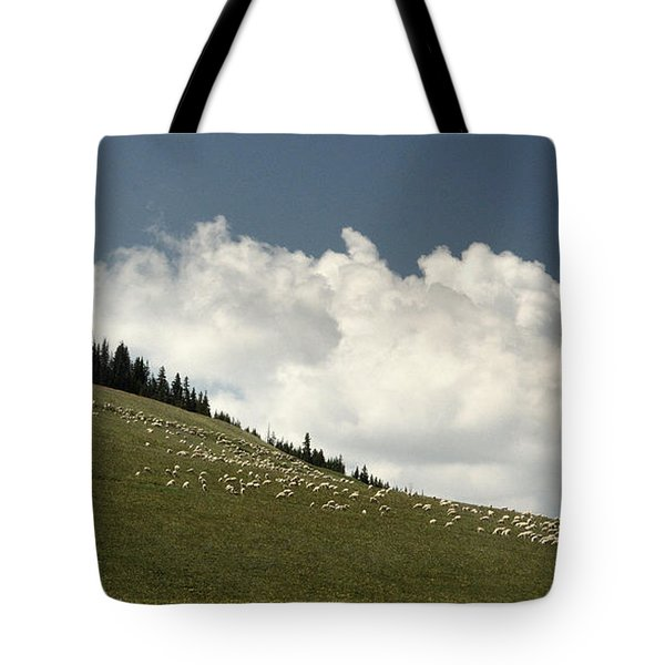 Tote Bag featuring the photograph His Pastures.. by Al  Swasey