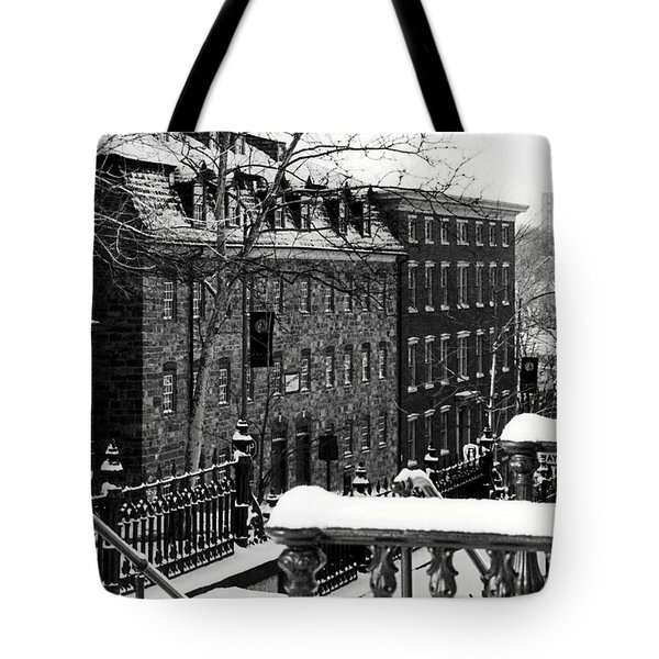 Tote Bag featuring the photograph Historic Bethlehem Pa by DJ Florek
