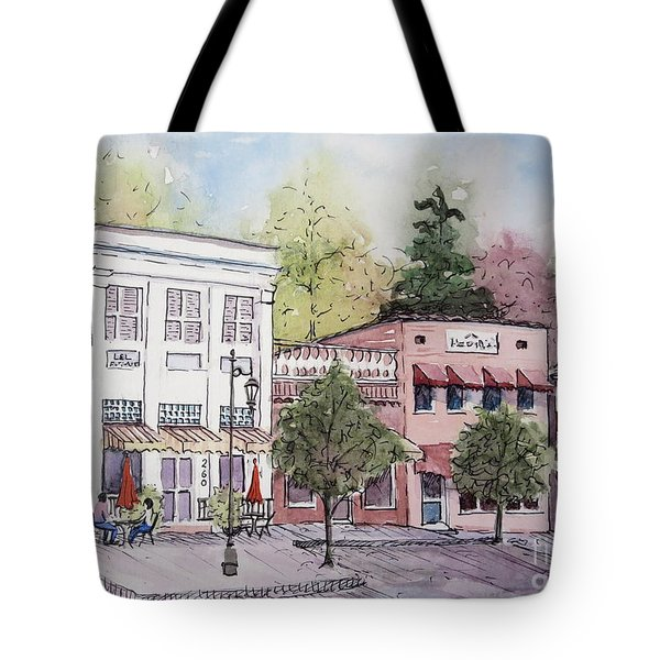 Historic Blue Ridge, Georgia Tote Bag by Gretchen Allen
