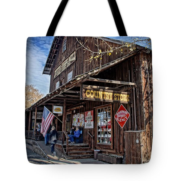 Historic Butte Creek Mill Tote Bag