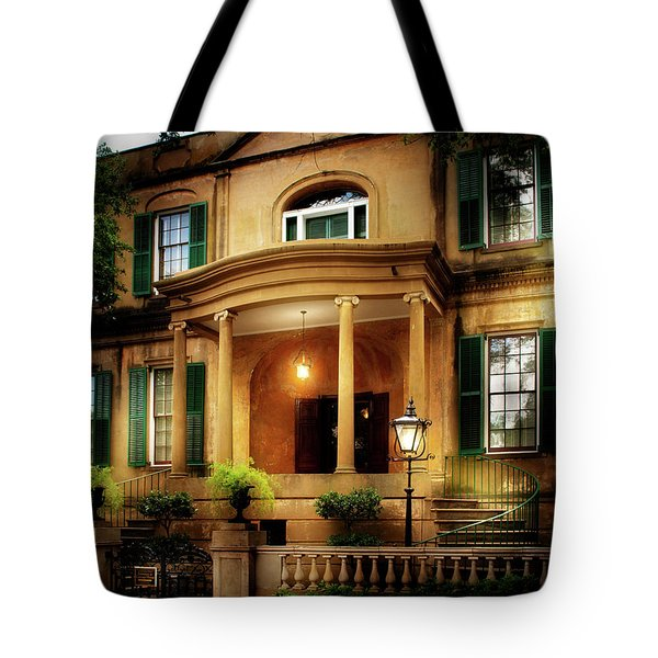 Historic Carriage House Tote Bag