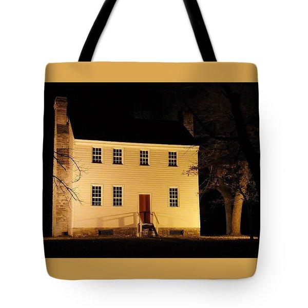 Historic Carter Mansion  Tote Bag