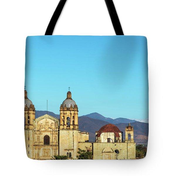 Historic Church In Oaxaca Tote Bag
