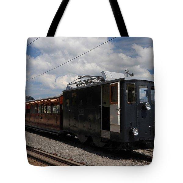Historic Cogwheel Train  Tote Bag