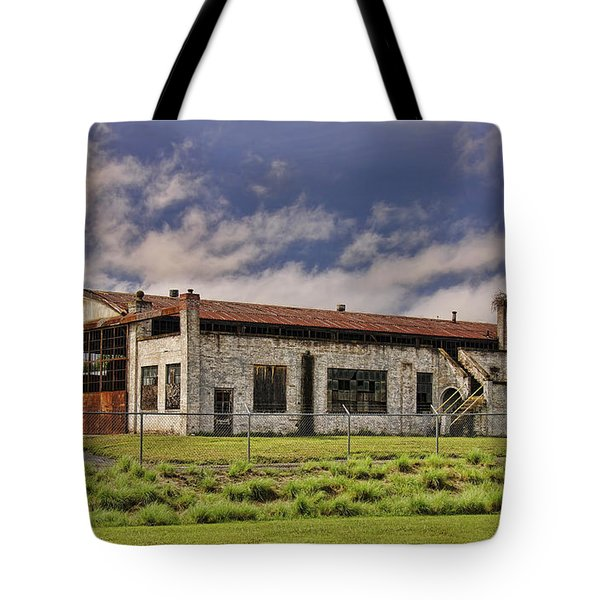 Historic Curtiss Wright Hanger Tote Bag