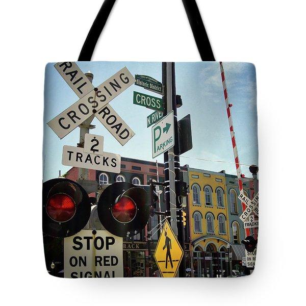 Historic Depot Town Ypsilanti Mi Tote Bag