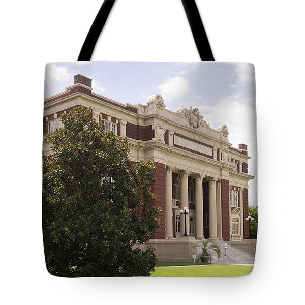 Historic Dillon County Sc Courthouse Tote Bag
