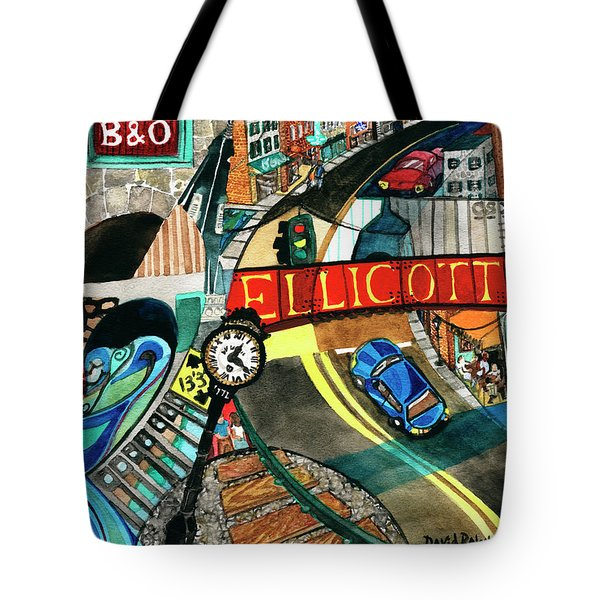 Historic Ellicott City Steam And Stone Tote Bag