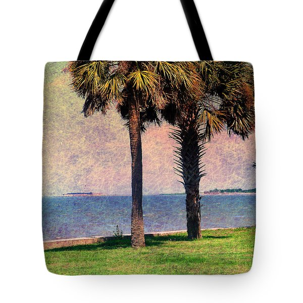 Historic Fort Sumter Charleston Sc Tote Bag by Susanne Van Hulst