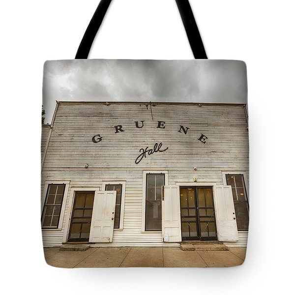 Historic Gruene Hall Tote Bag