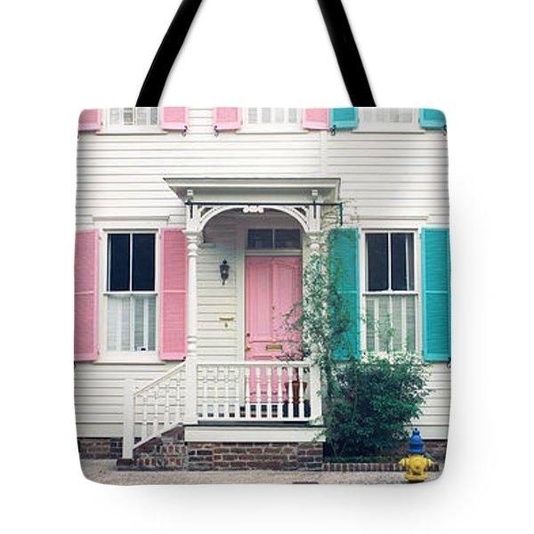 Historic Homes, Savannah, Georgia Tote Bag