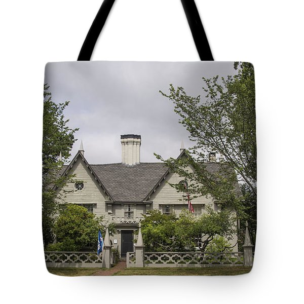 Historic House In Salem Tote Bag