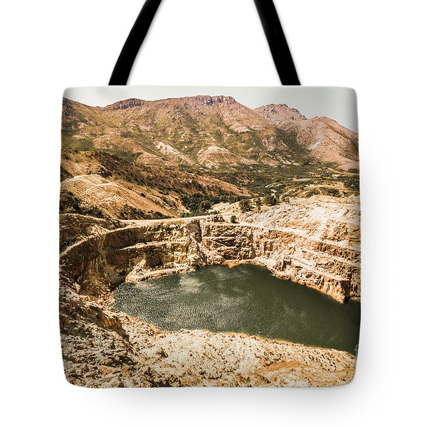 Historic Iron Ore Mine Tote Bag