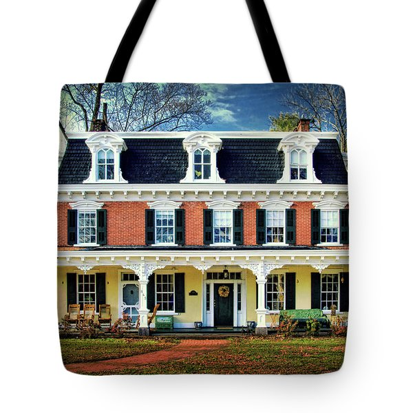 Historic Isaac Stover House  Tote Bag