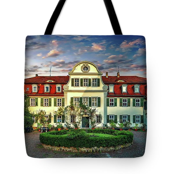 Historic Jestadt Castle Tote Bag