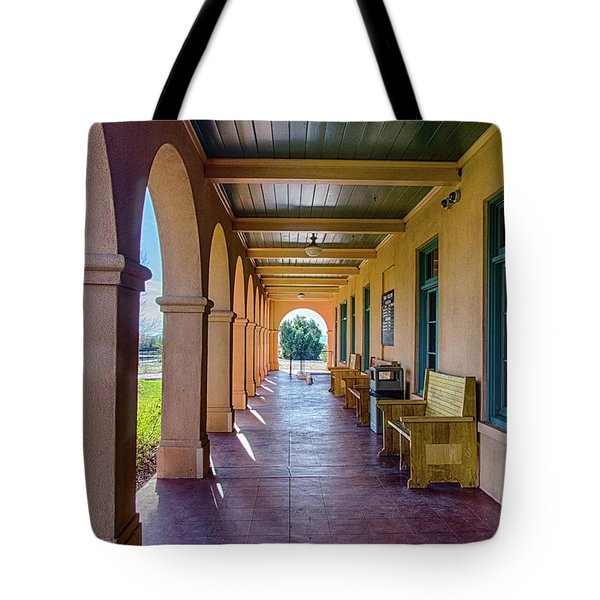 Historic Kelso Depot Tote Bag