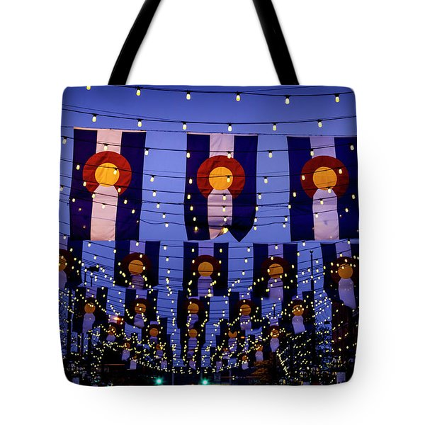 Historic Larimer Square Denver Tote Bag