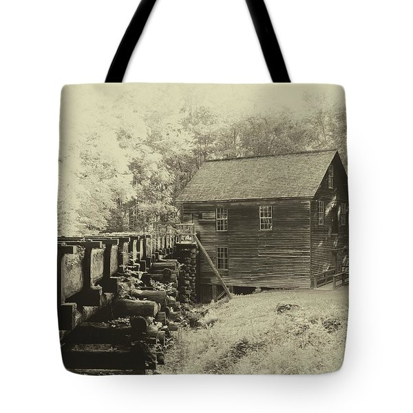 Historic Mingus Mill Tote Bag