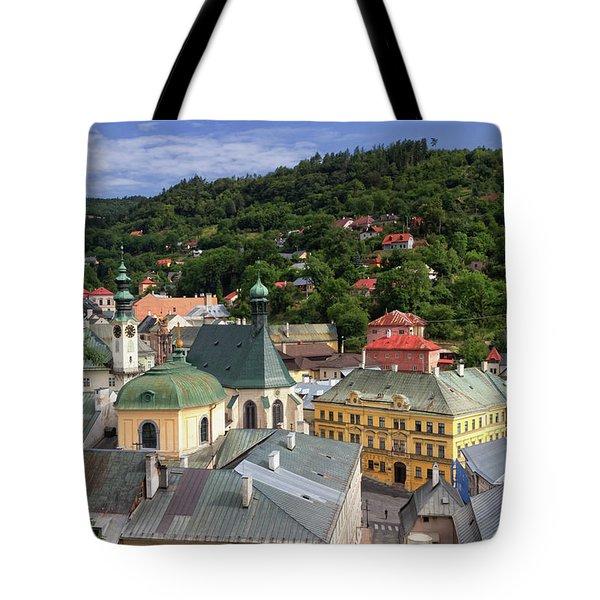 Historic Mining Town Banska Stiavnica, Slovakia Tote Bag