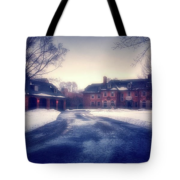 Tote Bag featuring the photograph Historic Neenah Home by Joel Witmeyer