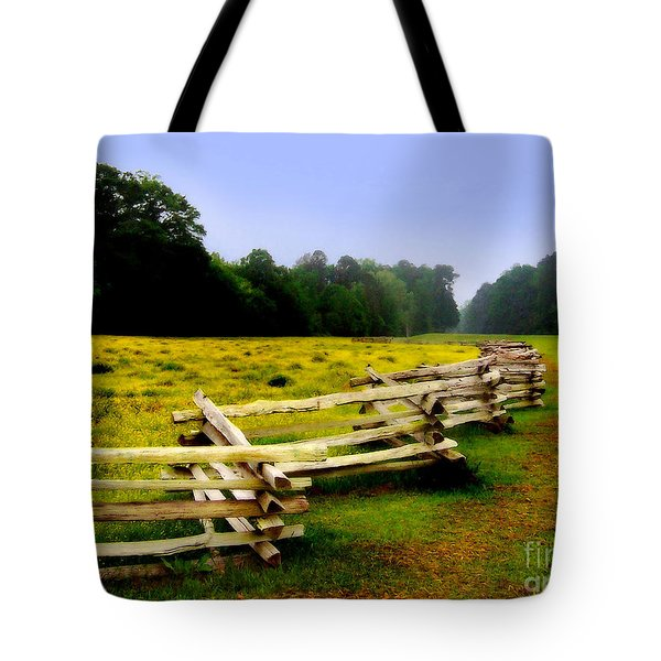 Historic Path Natchez Trace Parkway Tote Bag