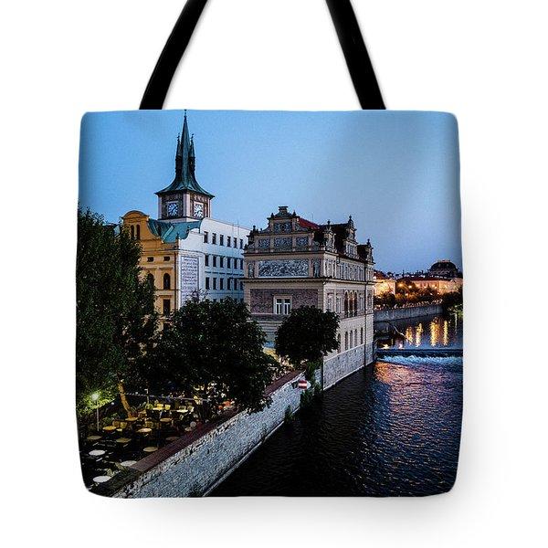 Historic Prague Tote Bag