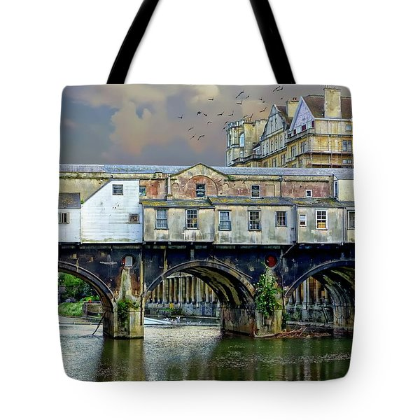 Historic Pulteney Bridge Tote Bag