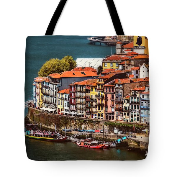Historic Ribeira Porto  Tote Bag