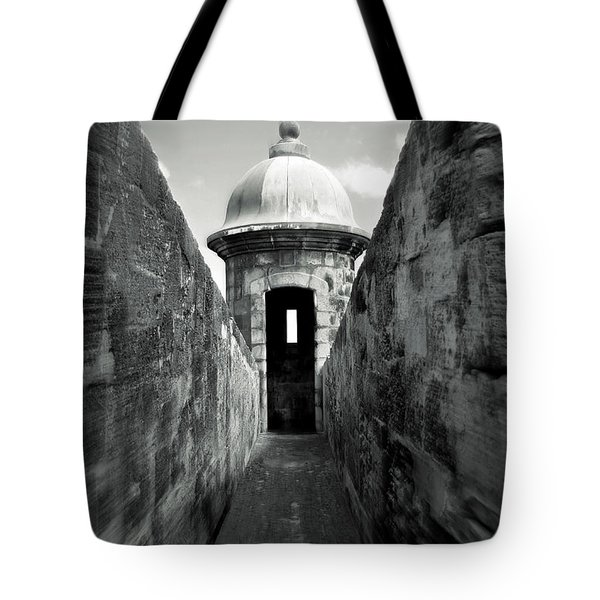 Historic San Juan Tote Bag by Perry Webster