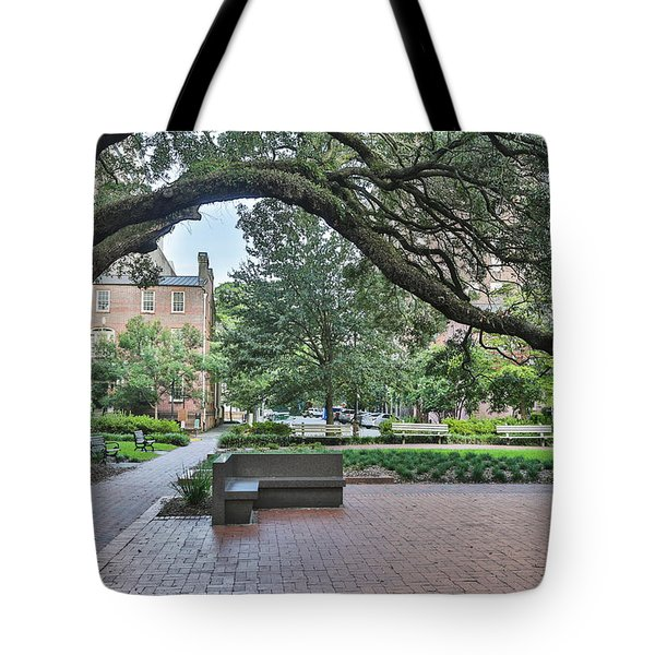 Historic Sqaure Tote Bag