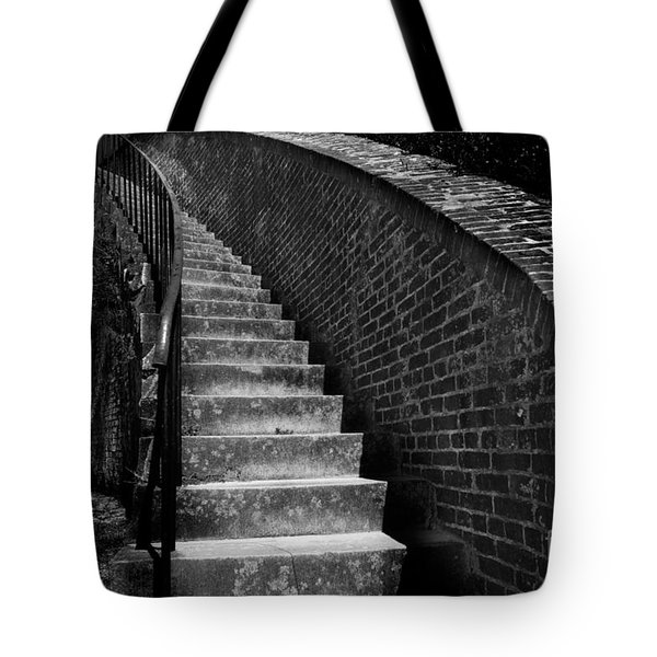 Historic Stairwelll Tote Bag
