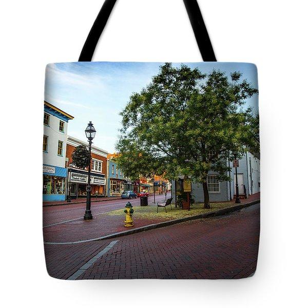 Historic Streets Tote Bag