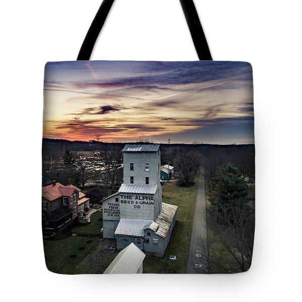 Historic Sunset Tote Bag