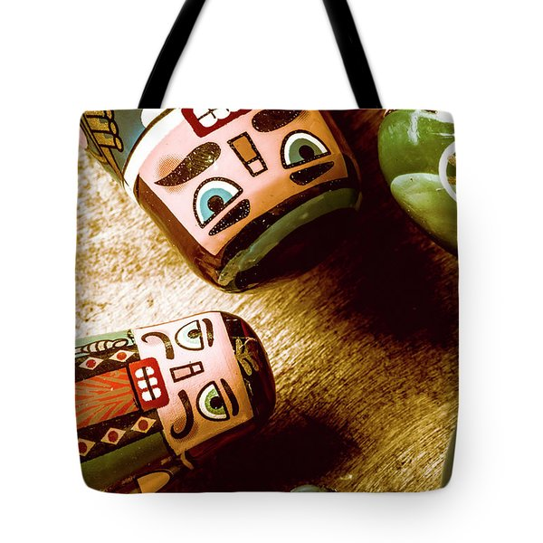 Historic Toys Tote Bag