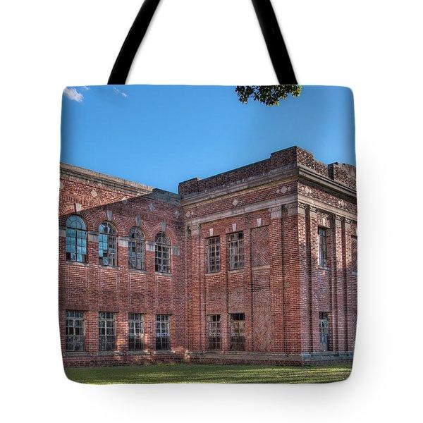Historic Veteran's Hospital I Tote Bag by Tamyra Ayles